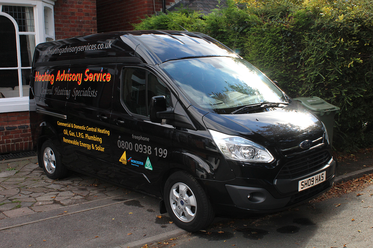 Heating Advisory Service Van